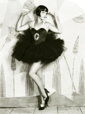 Flapper Girl Louise Brooks 1920s Icon