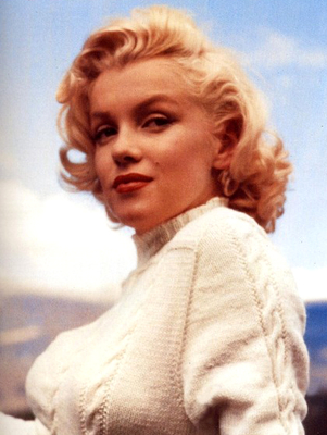 Marilyn Monroe 1950s Beauty Icon