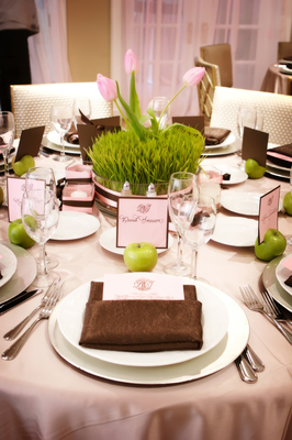 Brown Tone Wedding Table