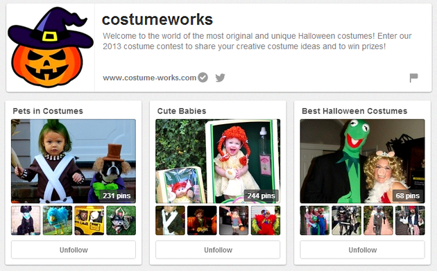 Costume Works Halloween Board