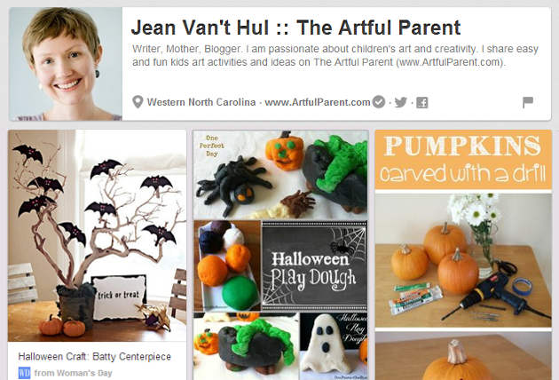 Halloween Board The Artful Parent