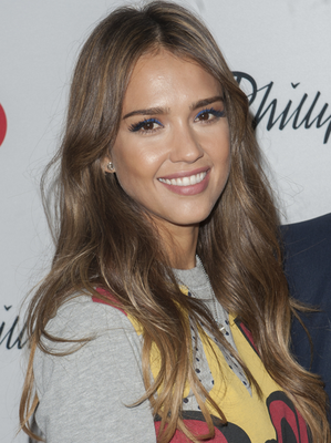 Jessica Alba Blonde To Brunette Celebrity Hair