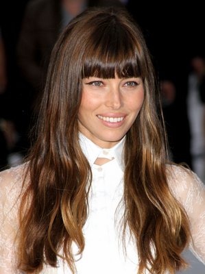 Jessica Biel Blonde To Brunette Celebrity Hair