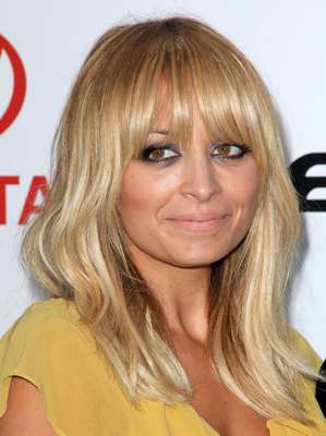Nicole Richie Blonde To Brunette Celebrity Hair