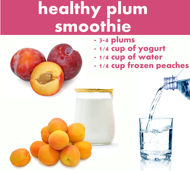 Plum Smoothie Recipe