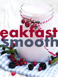 Breakfast Smoothie Recipes for Fall
