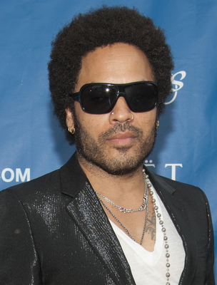 Lenny Kravitz Natural Curly Hair