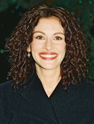 Julia Roberts Natural Curly Hair