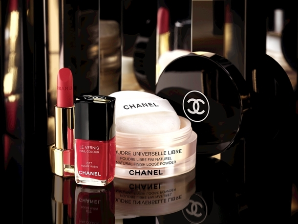 Chanel Nuit Infinie De Chanel Holiday 2013 Makeup