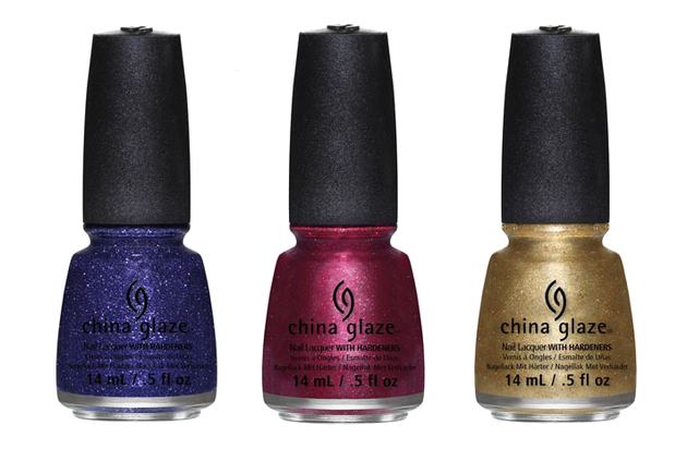 China Glaze Holiglaze 2013 Nail Lacquers