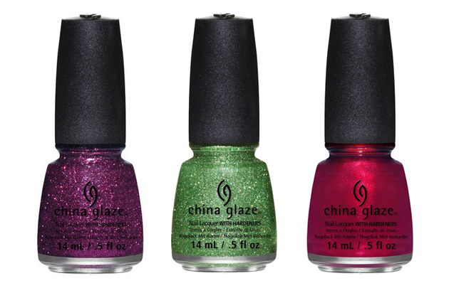 China Glaze Holiglaze 2013 Nail Polishes