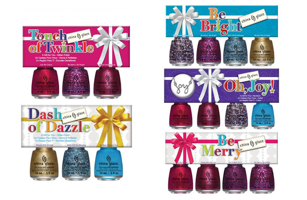 China Glaze Holiday 2013 Nail Polishes