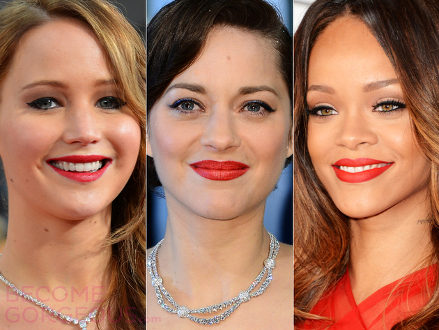 Classic Red Lipstick Shades