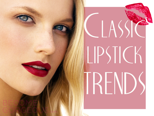 Classic Lip Color Trends | Timeless Lipsticks