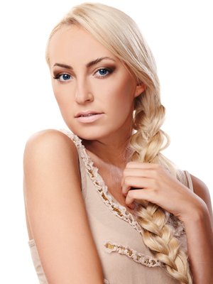Side Braid On Long Hair
