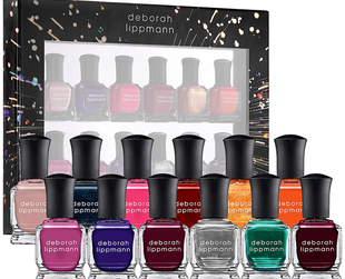 12 chic nail polish tones await in the new Deborah Lippmann holiday 2013 nail polish set. Check them out if you haven't seen them already!