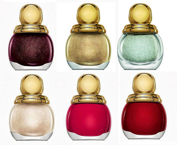 Dior Golden Winter Holiday 2013 Nail Polishes