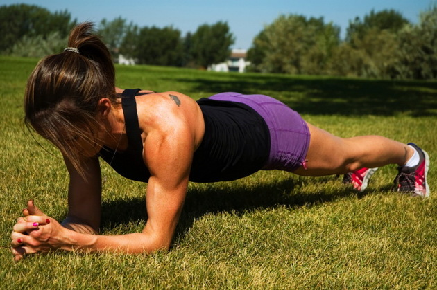Plank To Loose Belly Fat