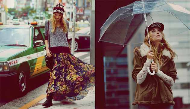 Free People October 2013 Catalog