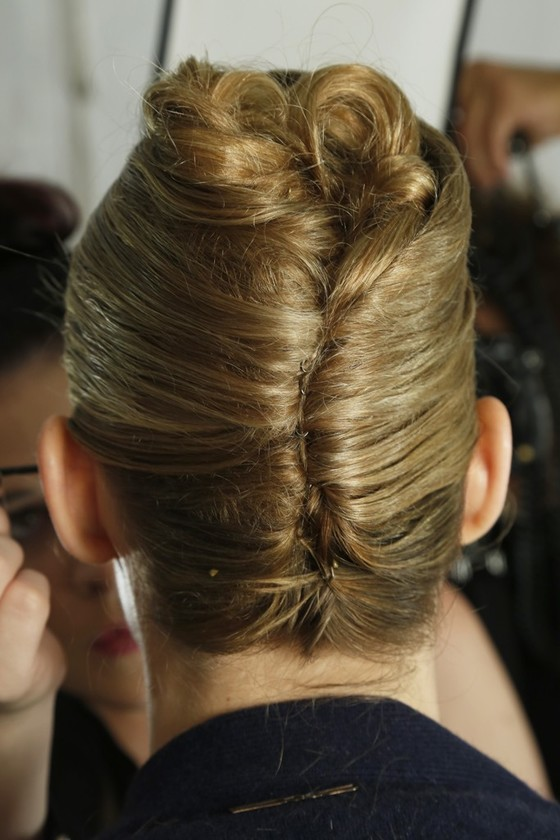 Updated Stylish French Twist Updo