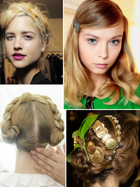 Spring 2014 Hairstyle Trends from Fashion Week