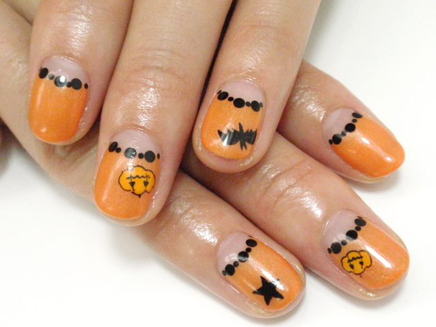 Amazing Long Nail Art Designs Tall Beauty Uk Nail Polish Square Nail Polish Center Nail Art Tips For Beginners Young Nail Polish Cold Water RedNail Art For Really Short Nails Pictures : Halloween Nail Art Inspiration   Pumpkin Nail Art For ..