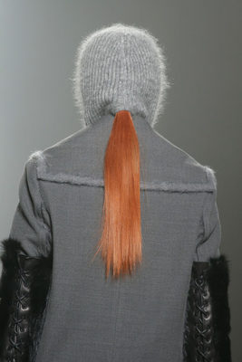 Alexander Wang Fall 2013 Hood Hat