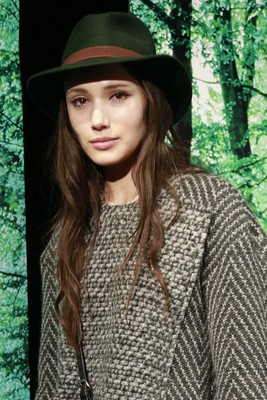 Charlotte Ronson Fall 2013 Retro Hats