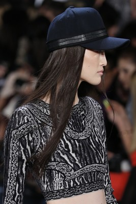 Herve Leger By Max Azria Fall 2013 Baseball Cap