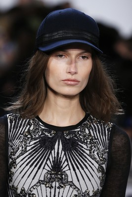 Herve Leger By Max Azria Fall 2013 Hats