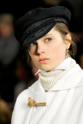 Ralph Lauren Fall 2013 Beret Hat