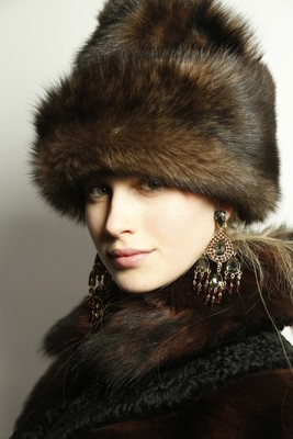 Ralph Lauren Fall 2013 Fur Hat