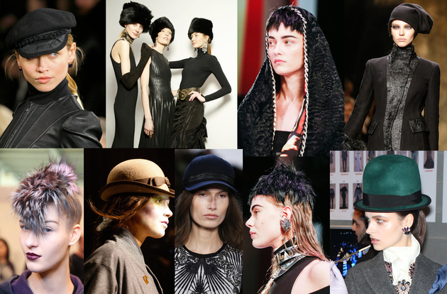 Headwear Trends for Fall/Winter 2013