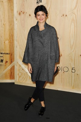 Audrey Tautou At Isabel Marant For H M Launch Party