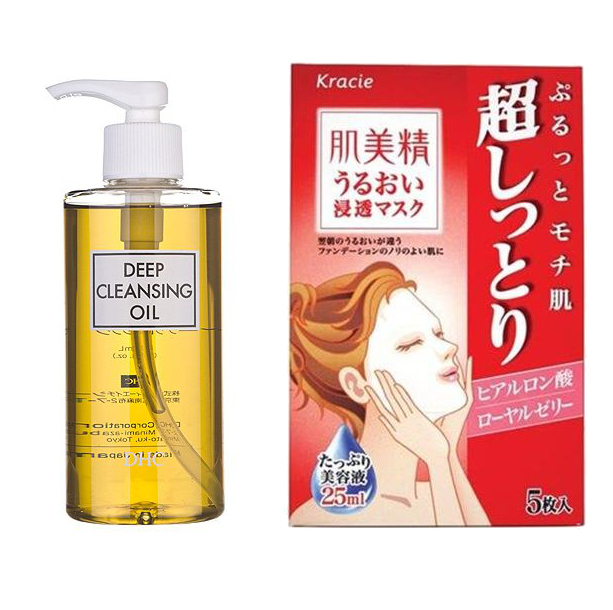 Japanese Facial Cleanser And Mask
