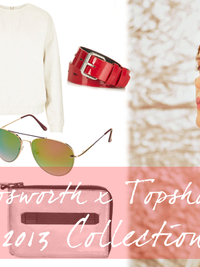 Kate Bosworth Unveils Second Topshop Collection