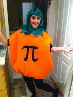 Pumpkin Pi Halloween Costume