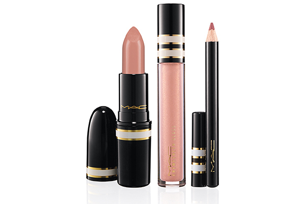 Mac Stroke Of Midnight 2013 Nude Lip Look Bag