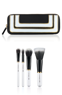 Mac Stroke Of Midnight Holiday 2013 Mineralize Brush Set