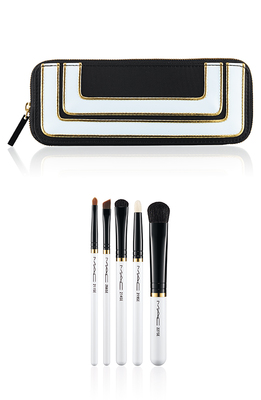 Mac Stroke Of Midnight Holiday 2013 Smoky Eye Brush Set