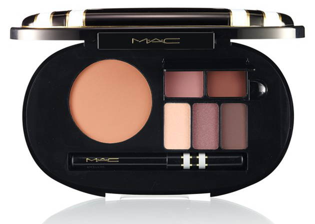 Mac Stroke Of Midnight Holiday Warm Face Palette