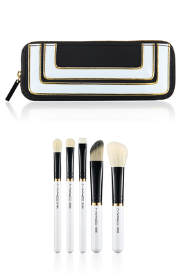 Mac Stroke Of Midnight Holiday 2013 Essentials Brush Set