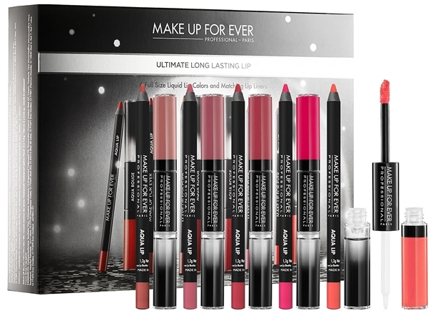 Make Up For Ever Ultimate Long Lasting Lip Set
