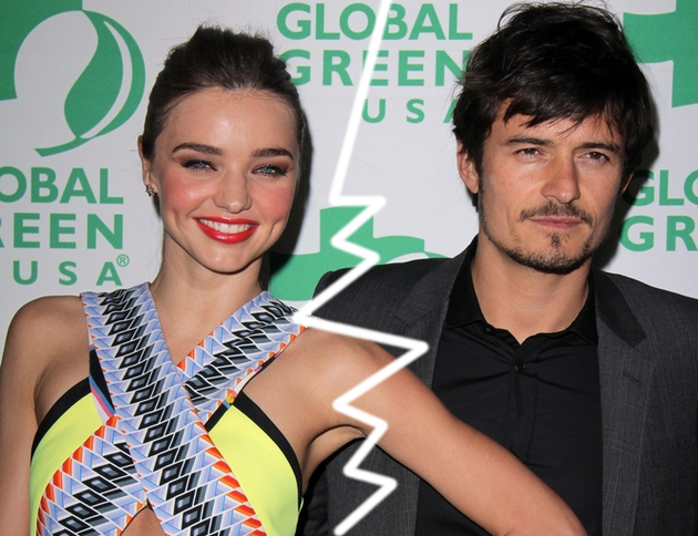 Miranda Kerr and Orlando Bloom Confirm Split