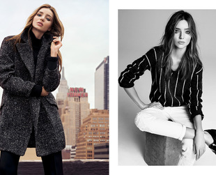 Aussie supermodel Miranda Kerr strikes a pose for the new Mango winter 2013 campaign. Check out the new ads!