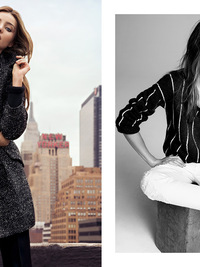 Miranda Kerr for Mango Winter 2013 Campaign