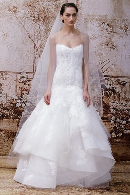 Monique Lhuillier Fall 2014 Wedding Gown  (12)