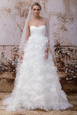 Monique Lhuillier Fall 2014 Wedding Gown  (13)