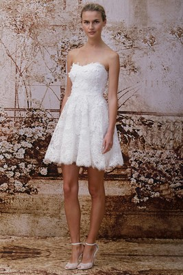 Monique Lhuillier Fall 2014 Wedding Gown  (2)