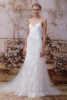 Monique Lhuillier Fall 2014 Wedding Gown  (3)